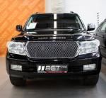 Решётка радиатора в стиле Bentley для Toyota Land Cruiser 200