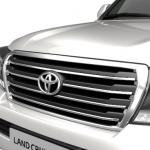 Решётка радиатора для Toyota Land Cruiser 200 в стиле brownstoyne